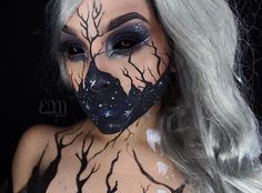 Wicked cool makeup!