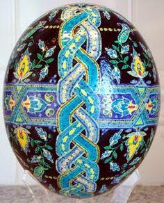 Jill Turndorf ostrich egg