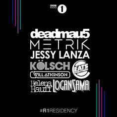 #housemusic Deadmau5, Eats Everything and Jessy Lanza Lead the New 2017 Line-up for BBC Radio 1's Residency: BBC Radio 1 have announced the…