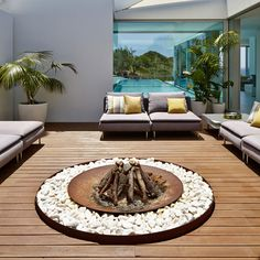 """Zen Awesome """"fire pit furniture ideas seating areas"""" detail is available on our web pages. Take a look and you wont be sorry you did. Fire Pit Gravel, Deck Fire Pit, Outside Fire Pits, Fire Pit Backyard, Fire Grill, Sand Fire Pits, Fire Pit Furniture, Garden Furniture, Outdoor Furniture Sets"""