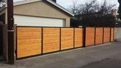 Backyard roll gate.