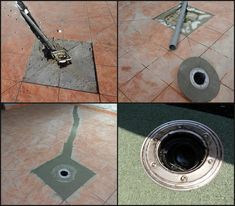 Why some floor siphons are not good on the terrace