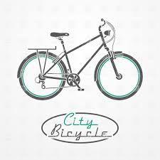 retro bicycle vector free download - Szukaj w Google