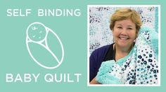 Self Binding Baby Blanket with Shannon Cuddle - YouTube