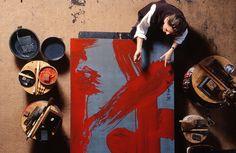 HEDOUVILLE, Fabienne Verdier peintre dans sa maison atelier. | Flickr