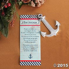 Legend of the Anchor Christmas Ornaments