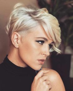 The Most Admired Pixie Haircut with Short Hairstyle - blondehair Hair Hairstyles pixiehair shorthair shorthaircut shorthairstyles - Short Hairstyles - Hairstyles 2019 418694096605228413 Latest Short Hairstyles, Short Pixie Haircuts, Pixie Hairstyles, Straight Hairstyles, Hairstyle Short, Undercut Pixie Haircut, Haircut Short, Haircut Style, Undercut Pompadour