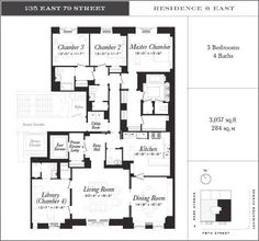 Floorplans Unveiled for On-the-Market 135 East 79th Street