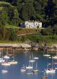The Rectory, Glandore, West Cork - My sister held her wedding reception here, stunning! Places Around The World, Oh The Places You'll Go, Travel Around The World, Places To Visit, Around The Worlds, Ireland Travel, Cork Ireland, Travel Europe, Terra Nova