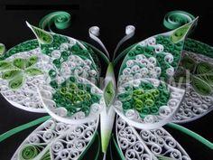 paper filigree butterfly :) he is Mr. Green