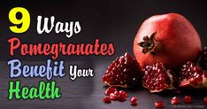 Pomegranates contain antioxidants that may boost your heart and brain health, protect your bones, and lower your risk of diseases like cancer. http://articles.mercola.com/sites/articles/archive/2015/12/14/pomegranate-healing-benefits.aspx