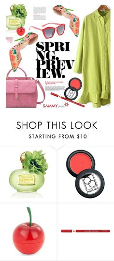 """Spring"" by ansev ❤ liked on Polyvore featuring Coach, Paula Dorf, Tony Moly, Bourjois and sammydress"