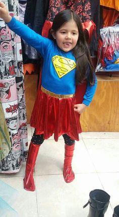 Disfraz de super chica arriendo de disfraces san bernardo matilda colores. +569 51989813
