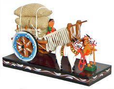 Kondapalli Toys - Beautiful and Colourful Hand-Crafted Wooden Toys Art N Craft, Craft Stick Crafts, Bullock Cart, Wedding Doll, Tree Wedding, Indian Wedding Gifts, Thali Decoration Ideas, Baby Birthday Dress, Traditional Toys
