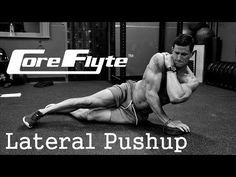 Core Flyte Lateral Pushup - YouTube