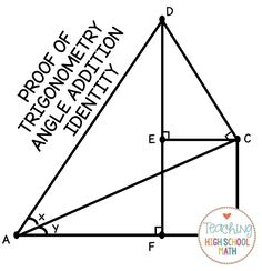 The cosine rule. It is very simple because once you
