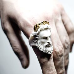 Zeus ring by Macabre Gadgets - jewelry appraisal, discount jewelry, costume jewe. - Zeus ring by Macabre Gadgets – jewelry appraisal, discount jewelry, costume jewelry rings *sponso -
