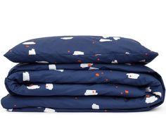 Junior duvet cover lommer blue, Tas-ka