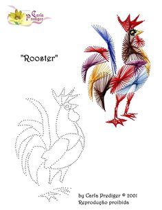 The Latest Trend in Embroidery – Embroidery on Paper - Embroidery Patterns Embroidery Cards, Embroidery Patterns, String Art Diy, Arte Linear, Art Carte, String Art Patterns, Sewing Cards, Crochet Diy, Chicken Art