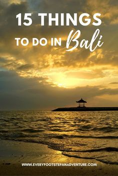 Visiting Bali? This island has a plethora of options from beaches to culture, nature to food, pampering to partying. Here are 15 things to do in Bali!