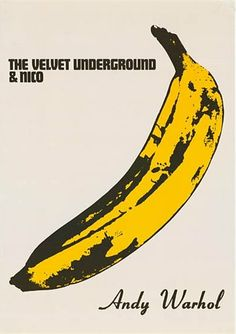 Velvet Underground Banana Poster 24x34 inches Andy Warhol Lou Reed Nico