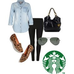 Fall traveling outfit