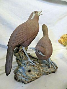 3723 Metal Handmade Crane Bird Home Shop Display Or garden Ornament