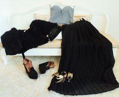 Must have!!...falda plisada!