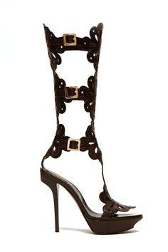 Pretty much the coolest gladiator heels