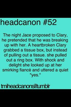 Head cannon--though i highly doubt with the love they have that he could convince her they should break up because they don't belong together