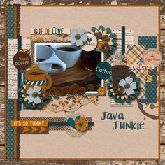 Coffee Break Bundle by Keley Designs: http://store.gingerscraps.net/Coffee-Break-Bundle-by-Keley-Designs.html May Template Challenge #2 Template by Tinci Designs