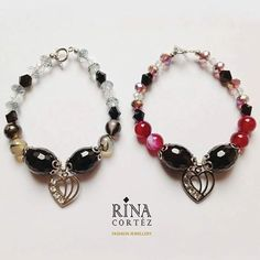 Which shade do you prefer? Black or Plum? Now you see our Cora Stella bracelets in black and plum from our La Chique Collection with Love. ❤ Enjoy the weekend and add a personal touch of our elegant jewellery in your style. 😊 Visit RINA CORTEZ at Sewn & Co. 4/F The Podium Mall, Ortigas (Metro Manila, Philippines). #jewellery #jewelry #jewelrydesigner #fashion #design #designer #accessories #artjewelry #handmade #oneofakind #preciousstones #gemstones #philippines #whatstoloveph #trylocalph…
