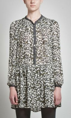Vestido leopardo con botones | Pepe Jeans London