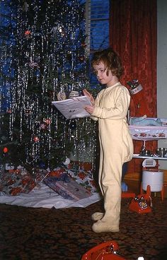 a kodachrome christmas | Christmad 1951 | #2 kodachrome & vintage color- christmas | Pinterest