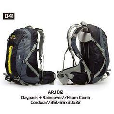 Tas Gunung Hiking Carrier Pria [ARJ 012] (Brand Trekking) Original Bandung