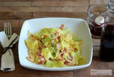 Lazy Blog: Calabacines a la carbonara. Receta sin gluten ni lactosa