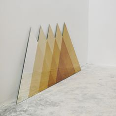 David Derksen Design — TRANSIENCE MIRROR - TRIANGLES