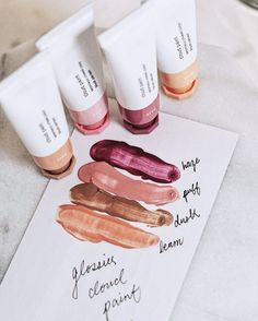 Image result for glossier cloud paint swatches