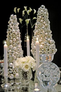Colin Cowie Events - spectacular white Christmas