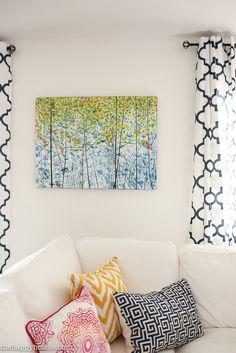 FrogTape Paintover Challenge Basement Family Room Makeover Reveal DIY-29