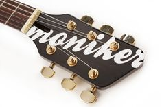 Moniker headstock. Design your Moniker guitar at http://monikerguitars.com