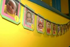 Babys 1st birthday past year banner
