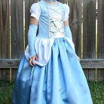 Cinderella Costume - this will help me make the Belle dress Meghan wants!