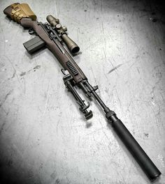 """""""Crazy Horse"""" Precision Rifle based on the venerable Military Weapons, Weapons Guns, Guns And Ammo, Airsoft Sniper, Battle Rifle, Fire Powers, Hunting Rifles, Cool Guns, 3d Prints"""