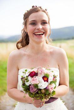 Glückliche Braut <3