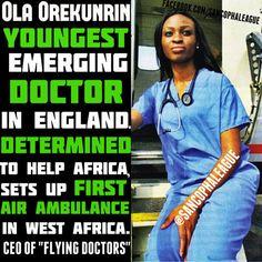 Ola Orekunrin: England's youngest doctor