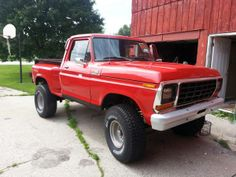 1978 Ford F-150 Stepside...love it