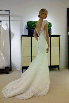 Carolina Herrera the back is beautiful