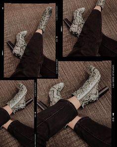 "da624f5f84f Keren with an ""e"" on Instagram  ""Thrifted these for 7 bucks. Win or win  🤩   thriftedfashion . . . . . . . . . .  animalprint  snakeprint  chicgirl ..."