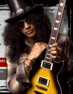 Slash and guitar